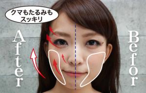 顔 施術前後